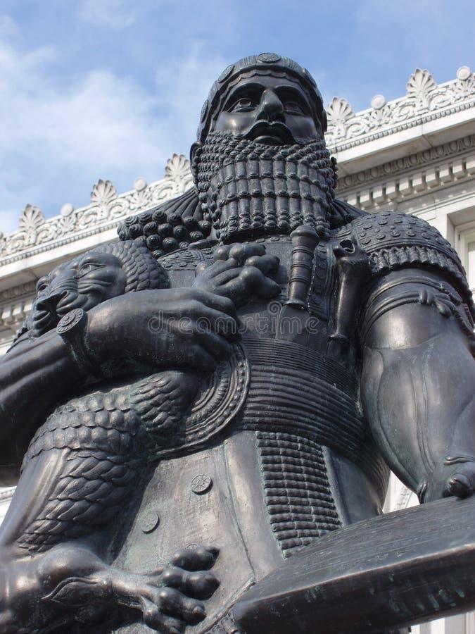 Ashurbanipal Στοκ Εικόνες
