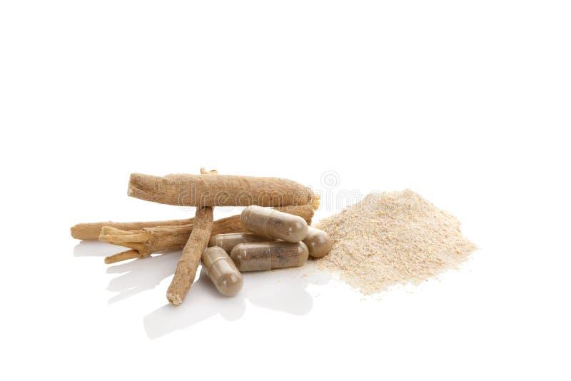 Ashwagandha Superfood remedium fotografia stock
