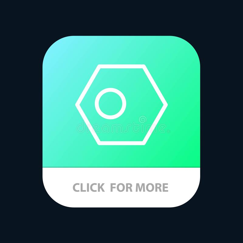 Asiático, Bangla, Bangladesh, país, botão móvel do App da bandeira Android e linha versão do IOS ilustração do vetor