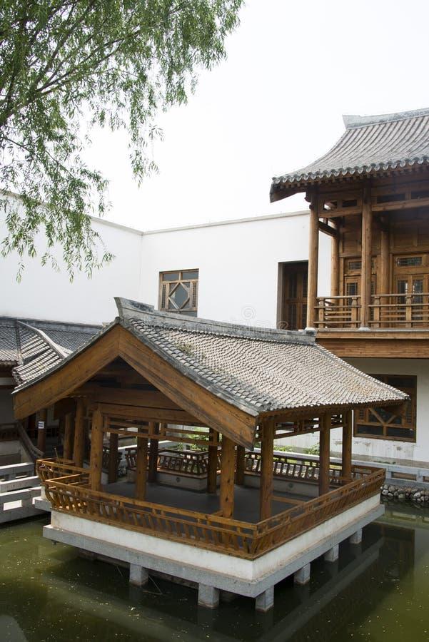 Asiático China Pekín Edificios Antiguos Pabellones