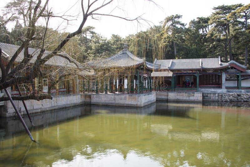 Asiático China, Pequim o palácio de verão, jardim do qu do xie fotos de stock