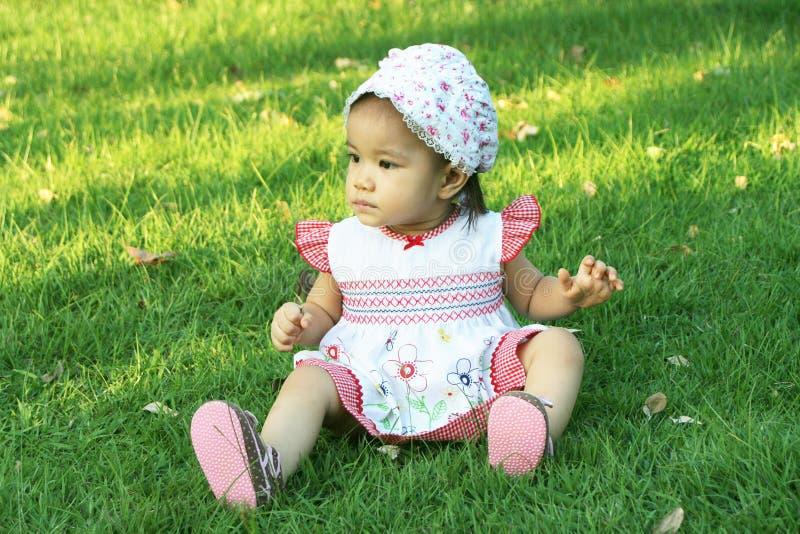 Asiático del bebé foto de archivo