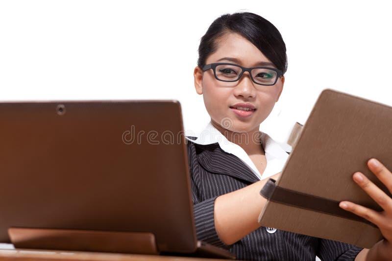 asia affärskvinna royaltyfria foton