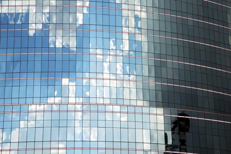 asia bangkok Thailand skyskrapa i fönstermitt arkivfoto