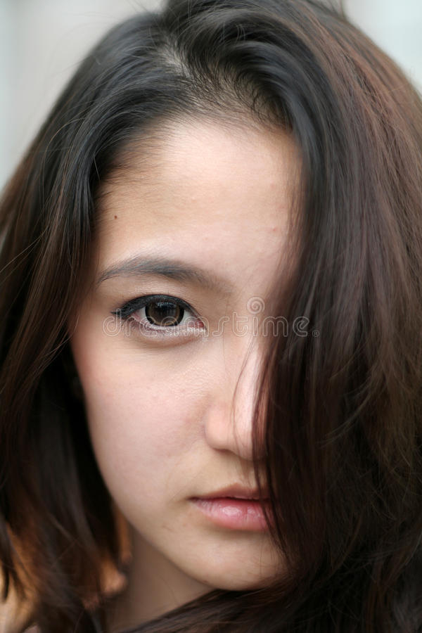 Asia Beautiful Woman royalty free stock images