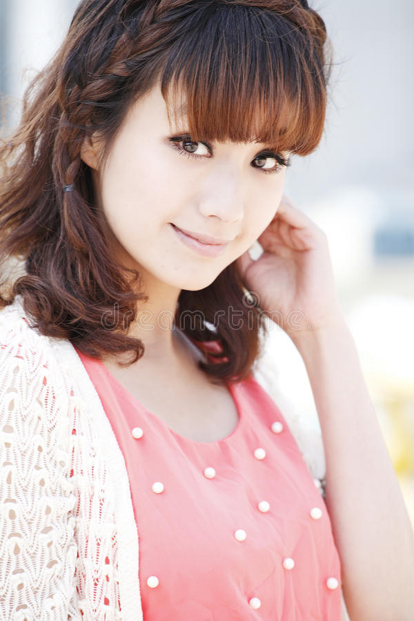 Asia Beauty Stock Photography
