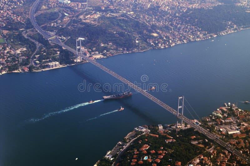 asia bro som förbinder Europa royaltyfri fotografi