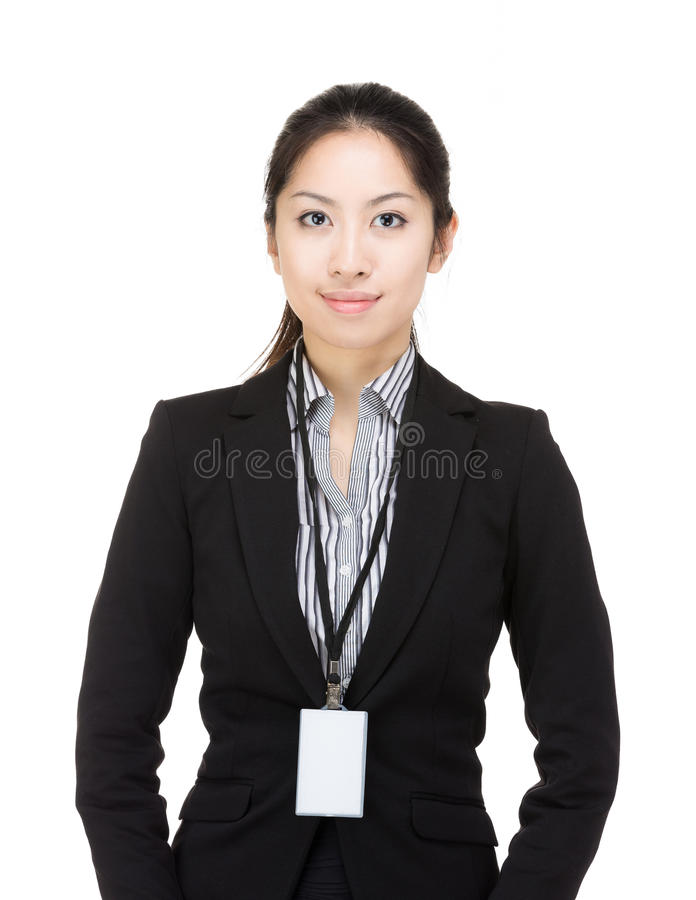 Asia business woman royalty free stock image