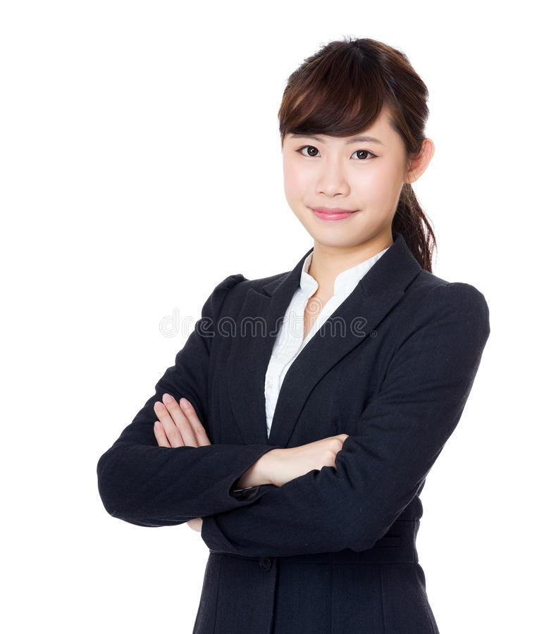 Asia businesswoman royalty free stock photography