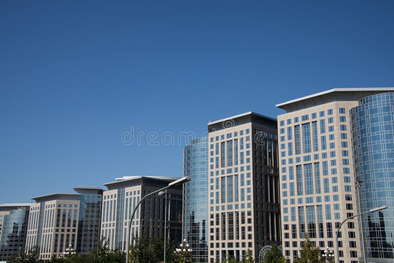 Asia and China, Beijing, Dongdan, the Oriental Plaza, modern architecture. Asia and China, Beijing, the Oriental Plaza, one of Asia's largest commercial stock image