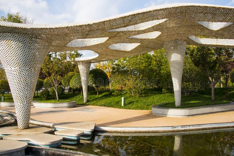 Asia China, Beijing, park expo garden, pavilions