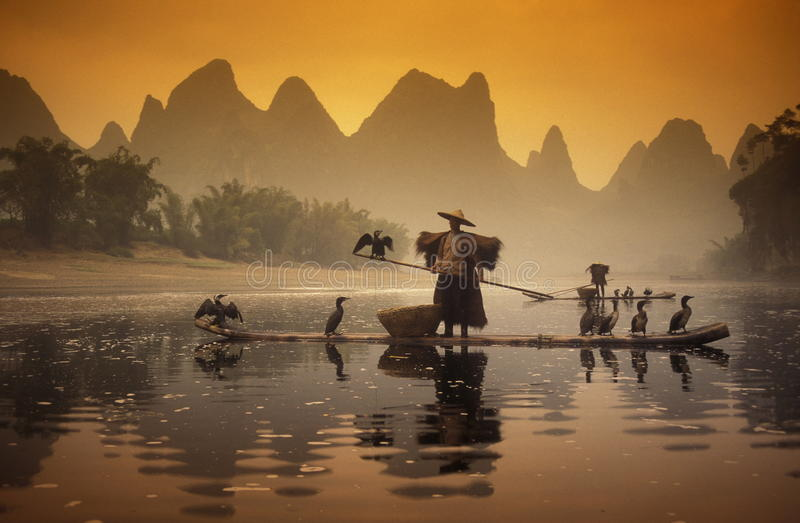 ASIA CHINA GUILIN royalty free stock images