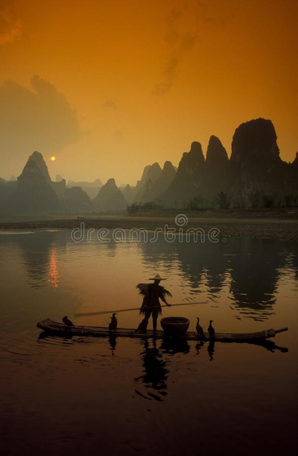 ASIA CHINA GUILIN royalty free stock photography