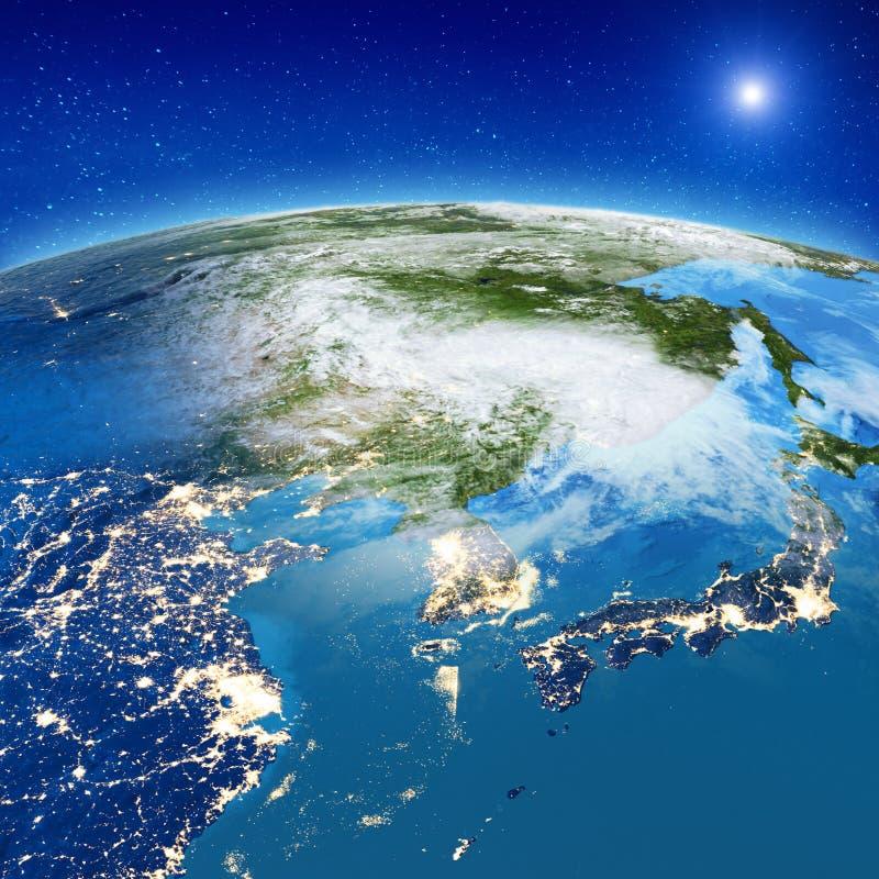 Asia - China, Japón y Corea del Sur libre illustration