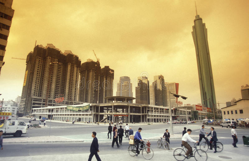 ASIA CHINA SHENZEN royalty free stock photography