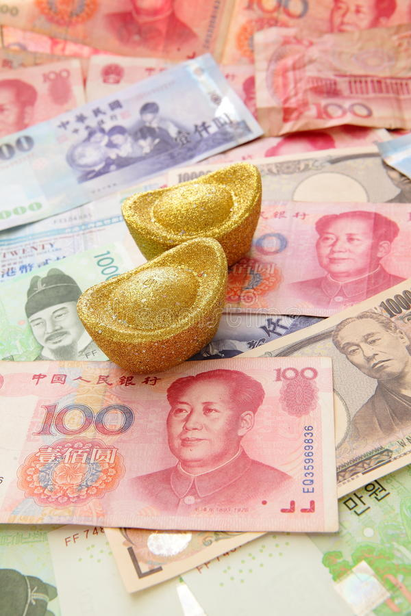 Download Asia Currencies Stock Image - Image: 21309431