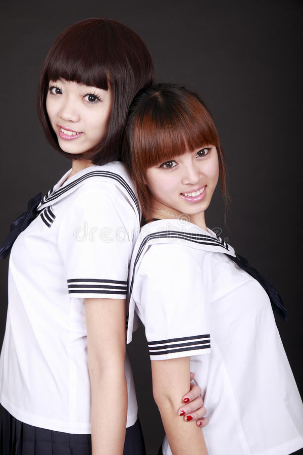 Download Asia female students stock photo. Image of children, cultures - 12875874