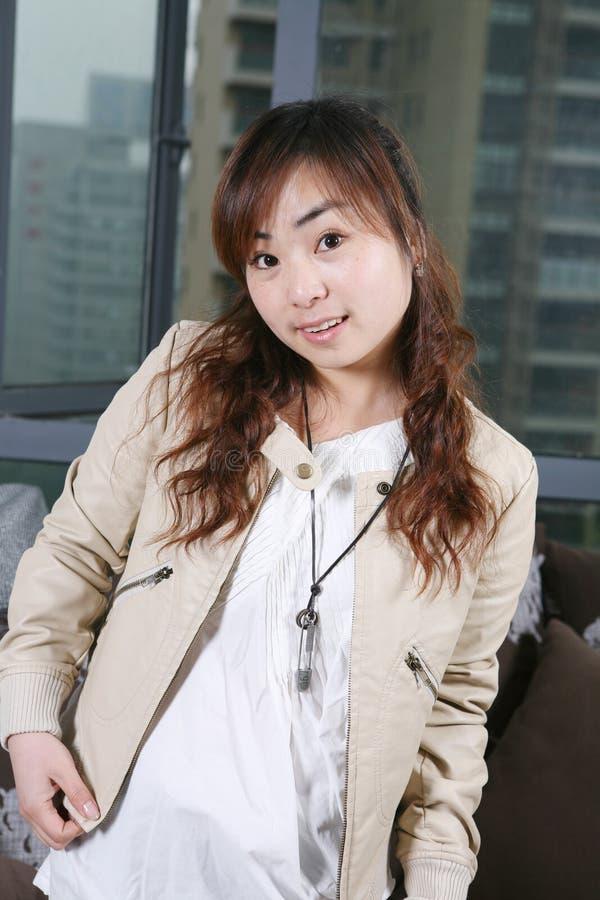 asia flickabarn royaltyfri fotografi