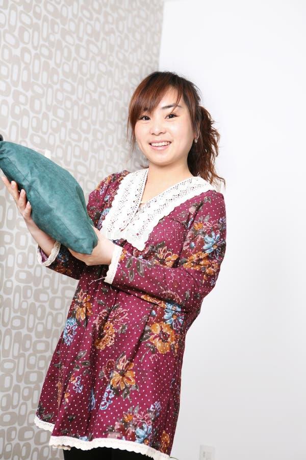 asia flickabarn royaltyfria bilder