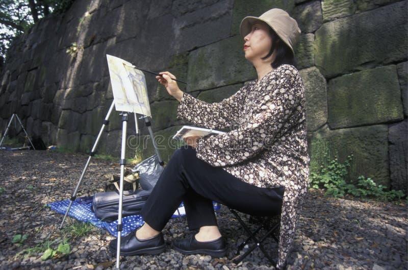ASIA JAPÓN TOKIO imagen de archivo