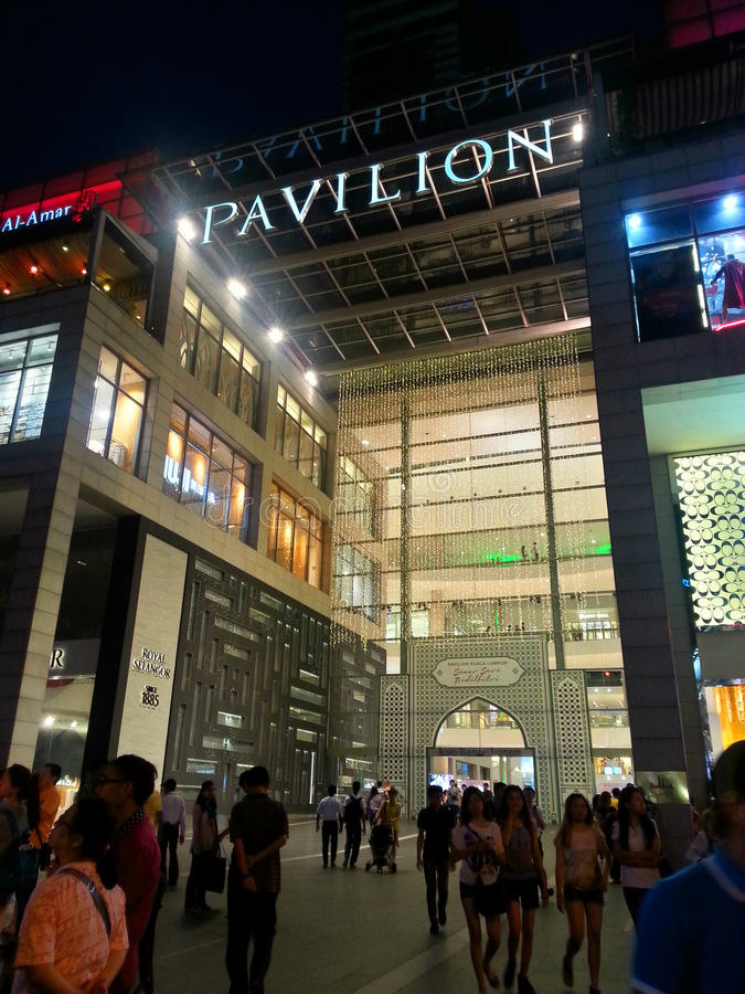 Asia Kuala Lumpur Malaysia, Pavilion Mall stock photos