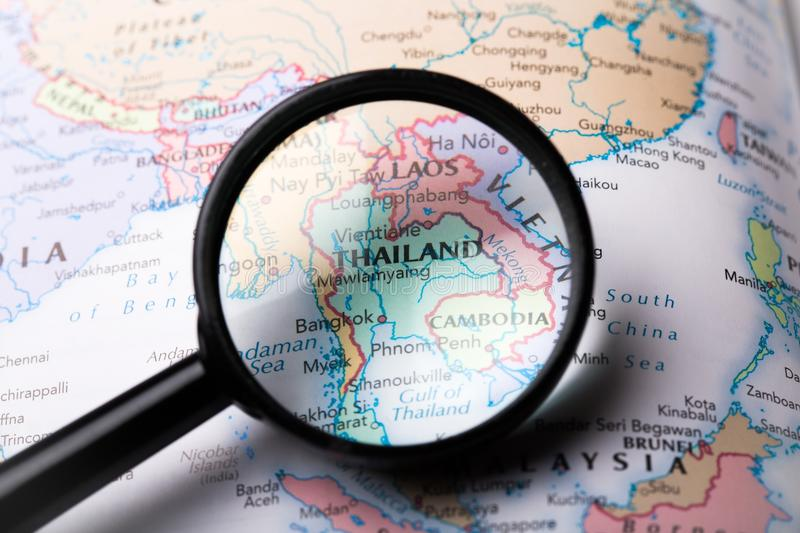 Asia. Map southeast south east vietnam travel royalty free stock image