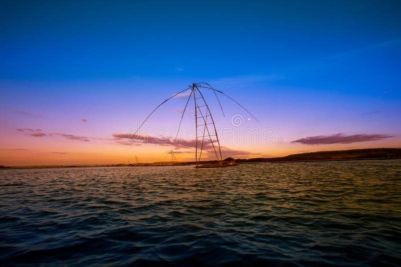 Asia, Phatthalung Province, Thailand, Equipment, Fish royalty free stock images