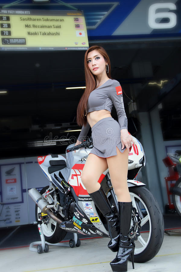 Asia Road Racing Championship 2015 royalty free stock images