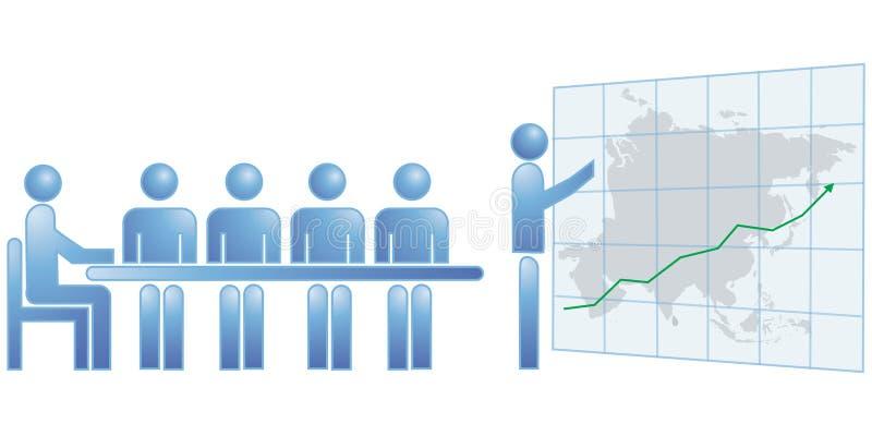 asia statistics stock illustrationer
