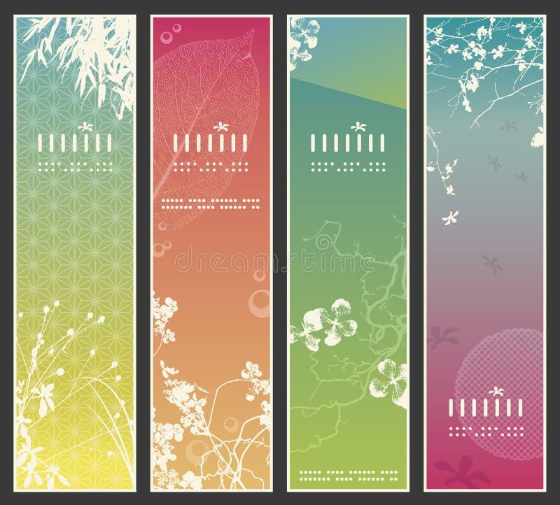 asia sztandarów wiosna ilustracji