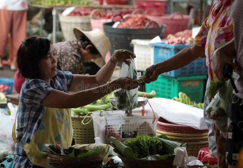 ASIA THAILAND BANGKOK BANGLAPHU PAK KHLONG MARKET. Fegetable at the Pak Khlong Food Markt in Banglamphu in the city of Bangkok in Thailand in Suedostasien stock images