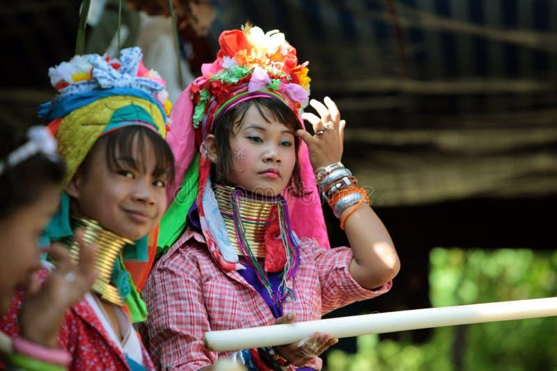 ASIA THAILAND CHIANG MAI WOMEN LONGNECK Editorial