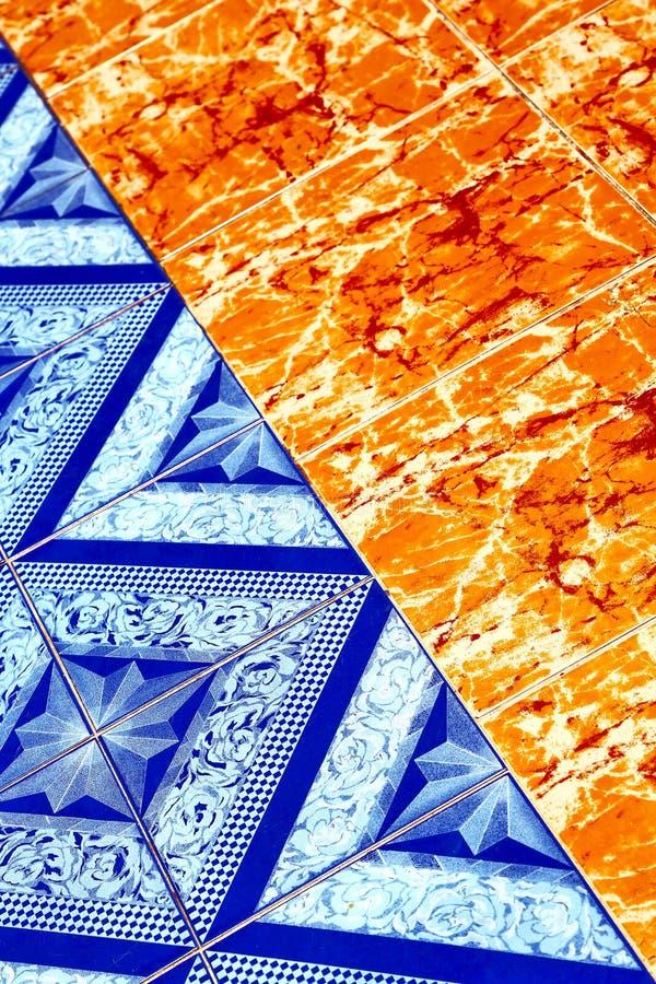 asia in thailand kho samui abstract cross texture floor cerami royalty free stock photography