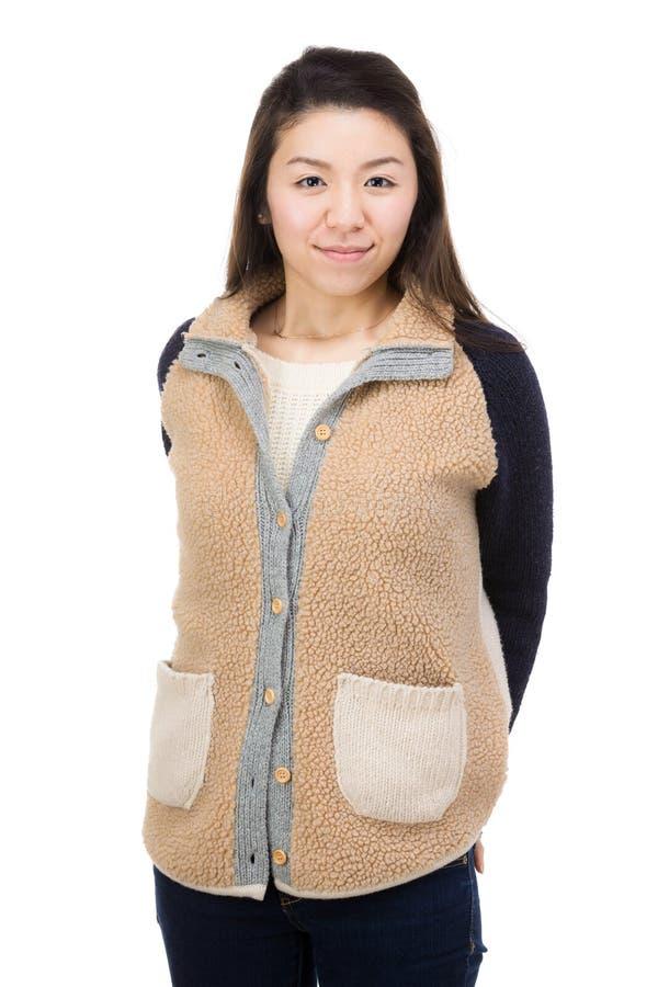 Asia woman portarit stock photo