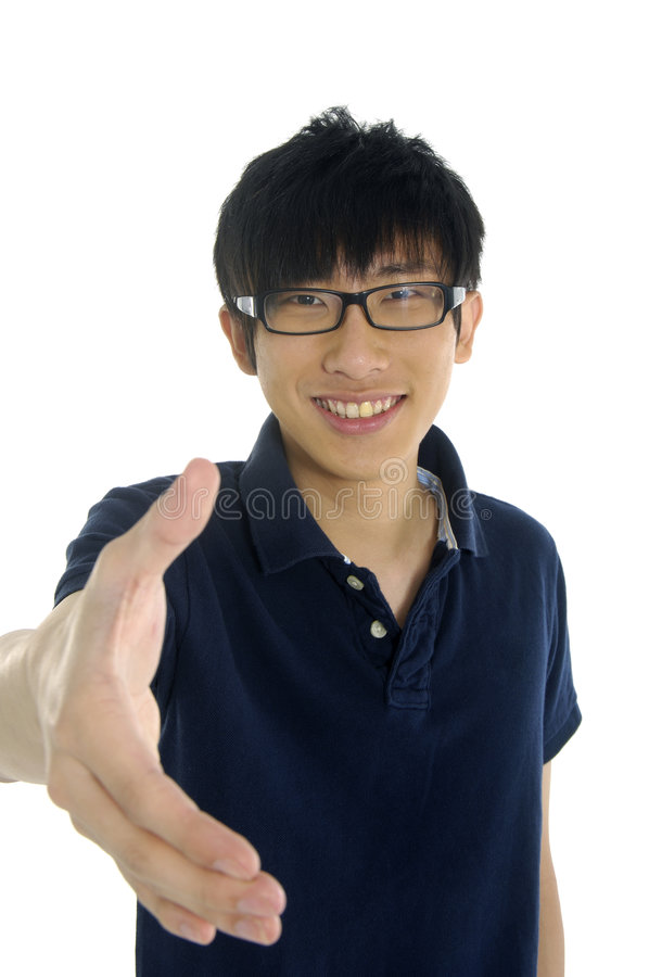 Asia Young man stock images