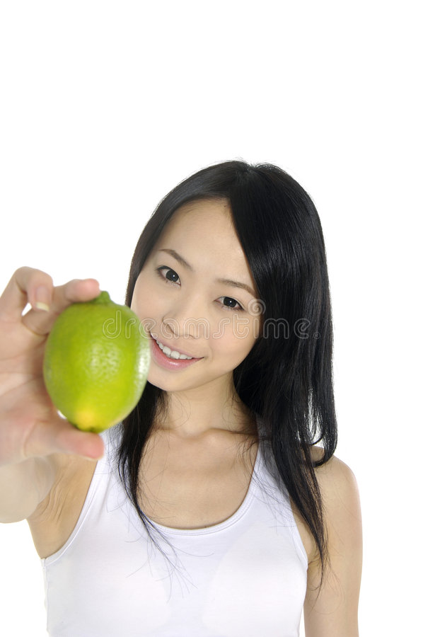 Asia Young Woman Royalty Free Stock Photos