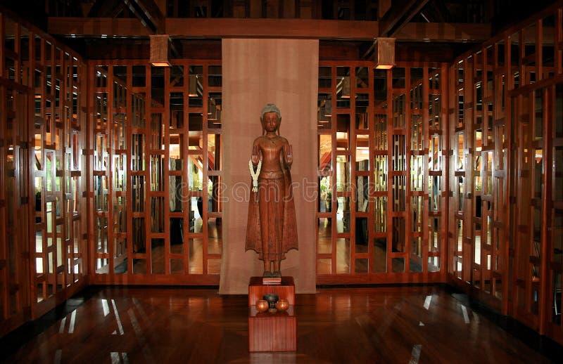 Asia Zen Art. Asia wooden Zen Art, Thailande royalty free stock image