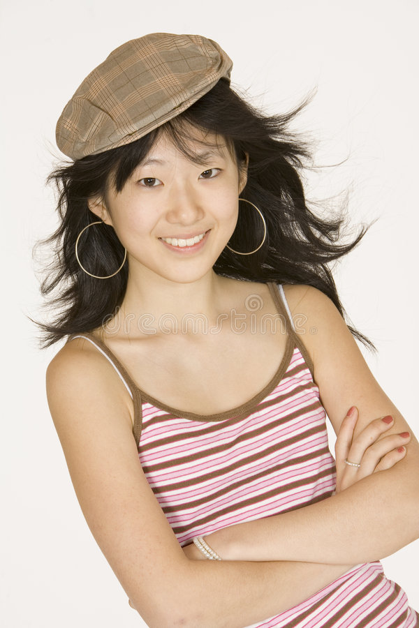 Asian. Model Release 302 Portrait of Asian teen royalty free stock images