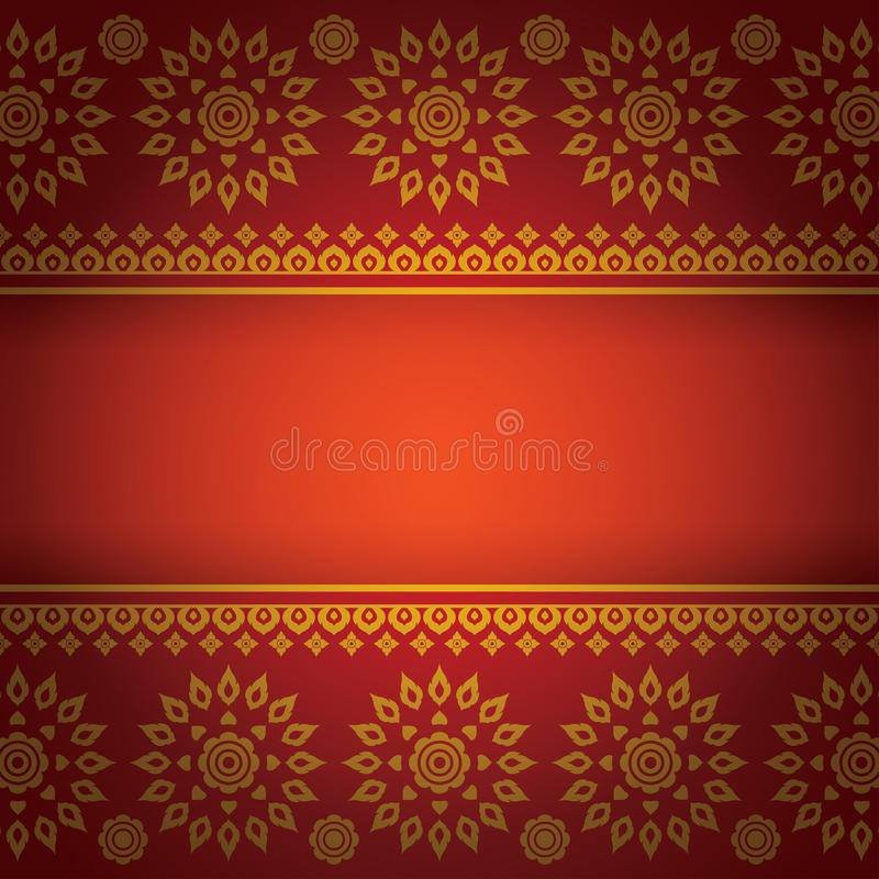 Book Cover Design From East Asia : Asian art background thai pattern vector stock