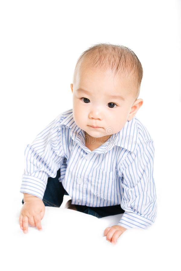 Download Asian baby stock photo. Image of white, young, childhood - 6137554