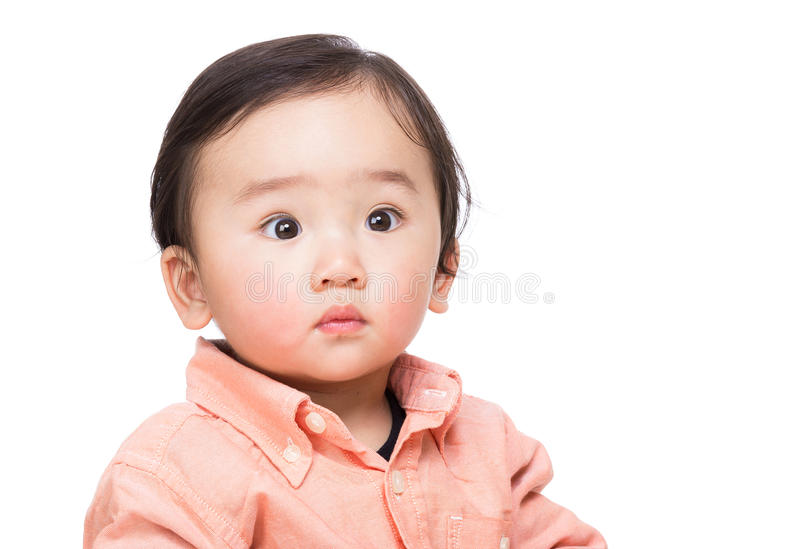 Asian Baby Boy royalty free stock photos