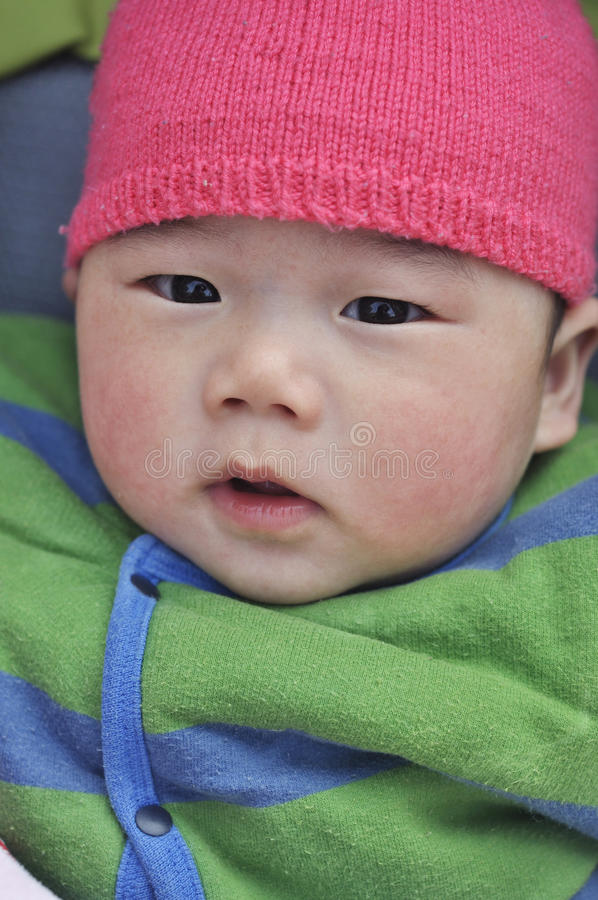 Download Asian baby,chinese baby stock photo. Image of innocence - 37895368