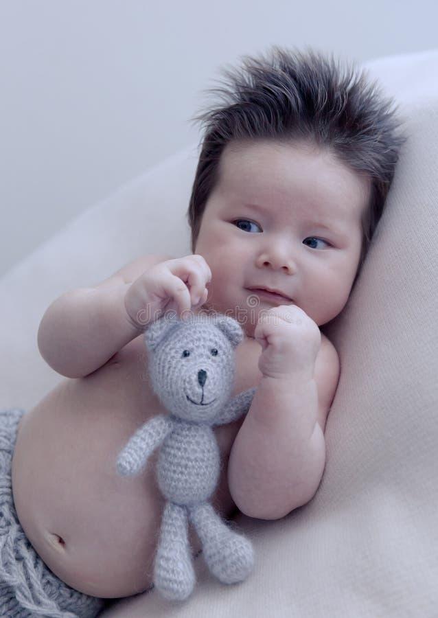 Asian baby portrait stock photos