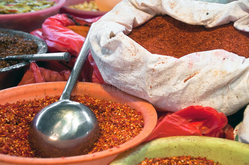 Download Asian Bag Of Spices Royalty Free Stock Image - Image: 21838256