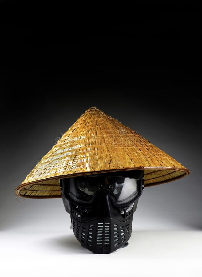 Asian Bamboo Hat royalty free stock images
