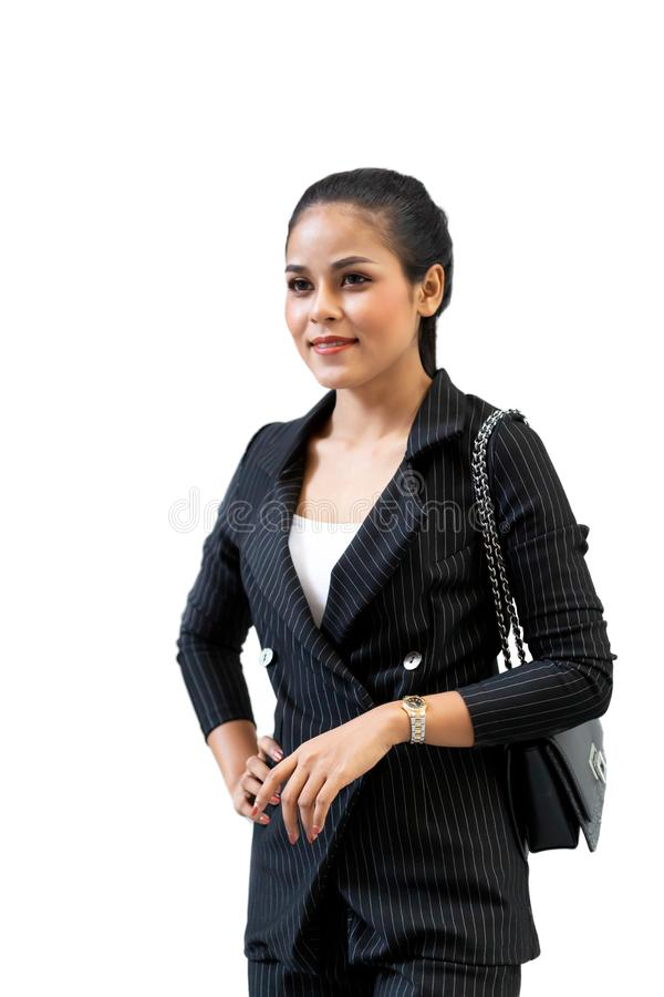 Asian Beautiful business woman royalty free stock image