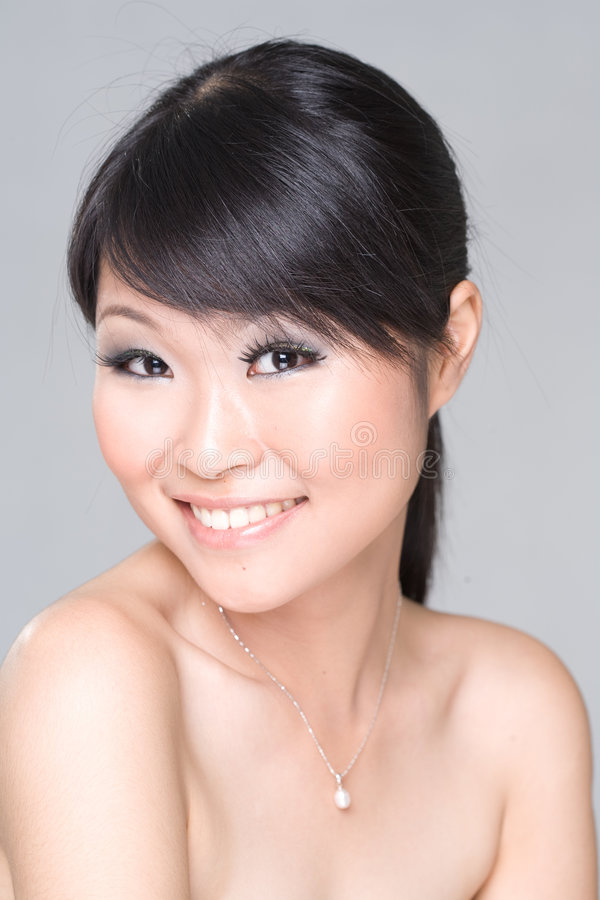 Download Asian Beauty smile stock image. Image of females, chinese - 3255961