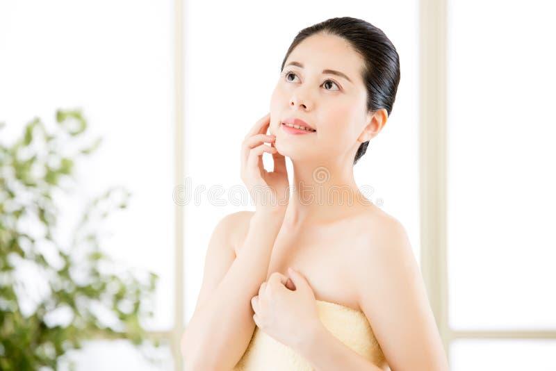 Asian shower beauty