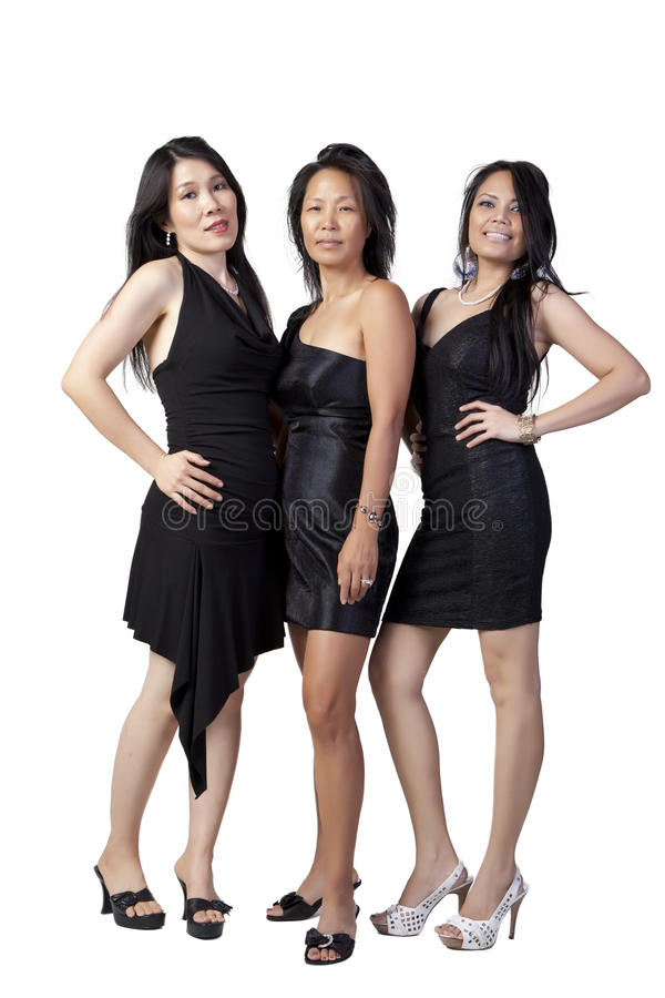 Download Asian in Black stock photo. Image of portrait, suite - 21025542