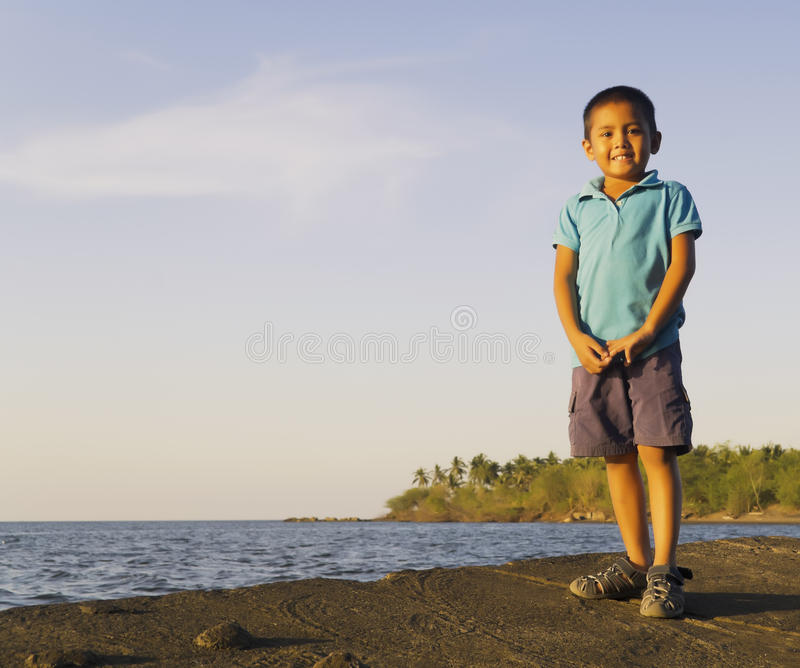 Asian Boy stock image